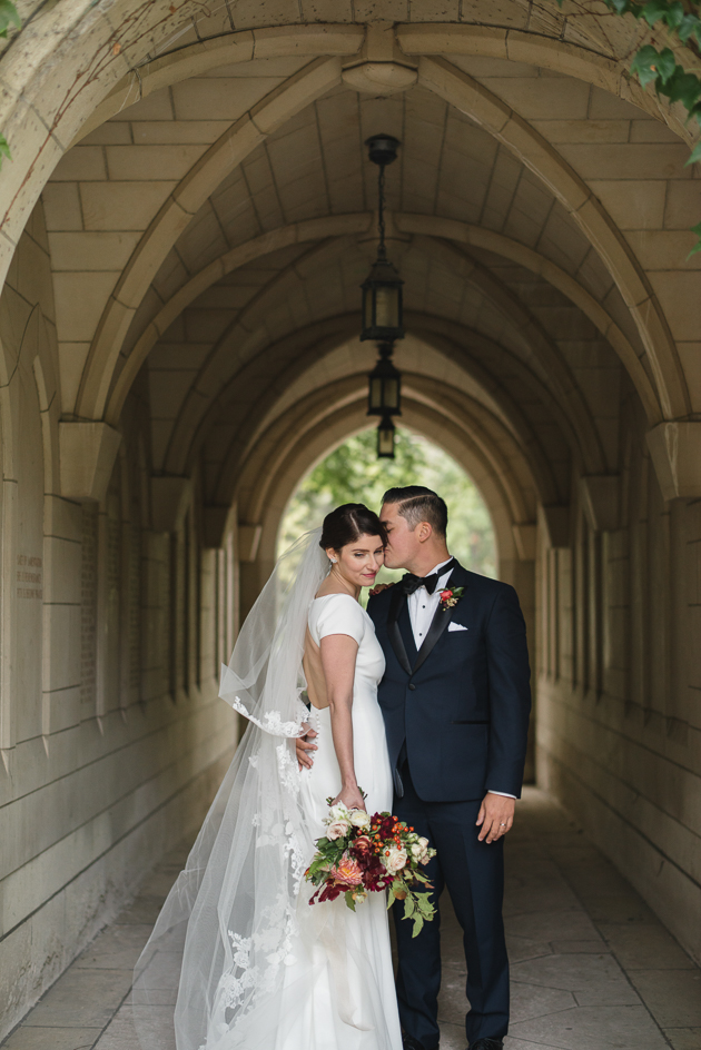 Wedding portrait at the U of T