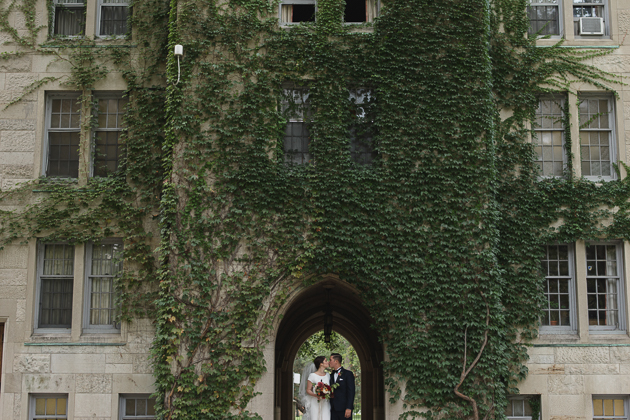 Wedding photos at the U of T