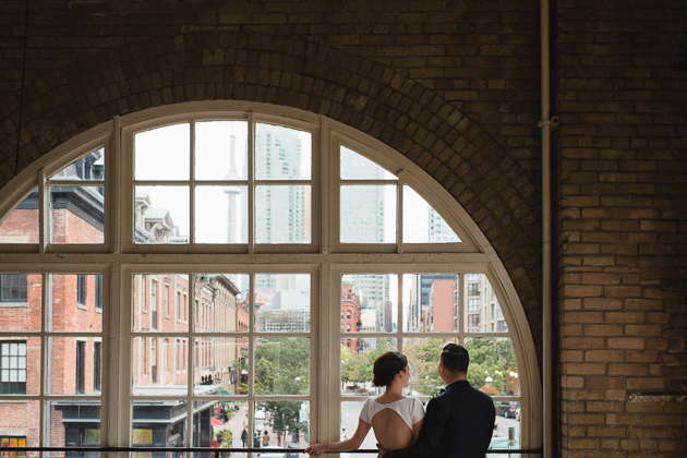 St. Lawrence market Kitchen wedding photos