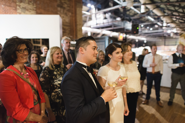 St. Lawrence Market Kitchen wedding in Toronto