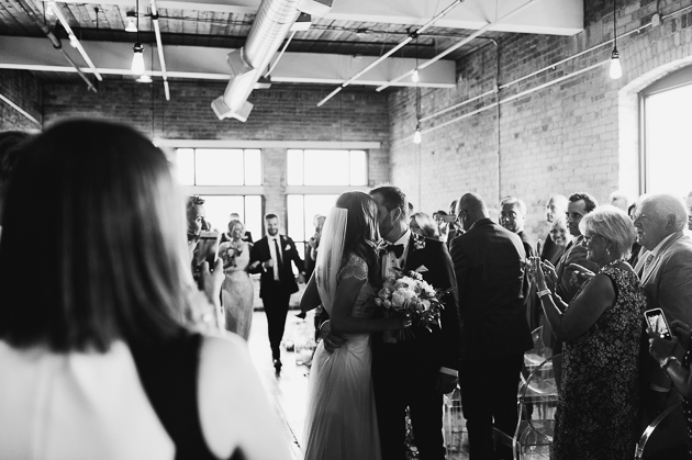 Burroughes Building wedding ceremony photos