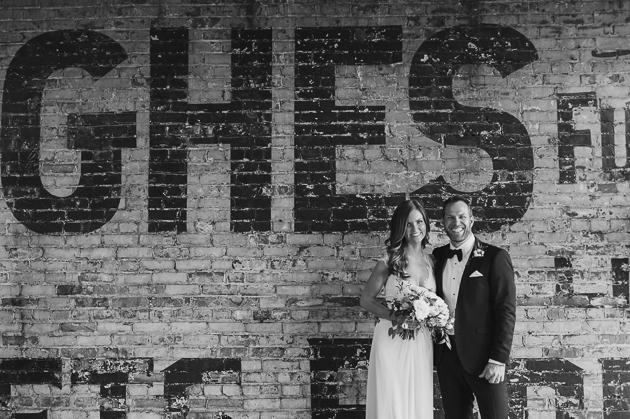 Burroughs Building wedding portraits