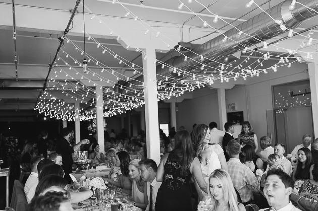 Burroughs Building wedding reception
