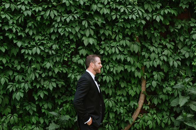 Wedding photos by the Burroughes Building
