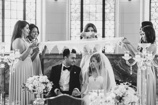 Persian wedding ceremony at Casa Loma