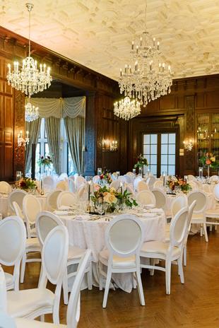 Elegant and Colourful Casa Loma Wedding