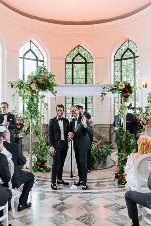 Elegant and Colourful Casa Loma Wedding