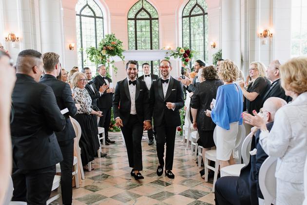 Elegant Casa Loma wedding