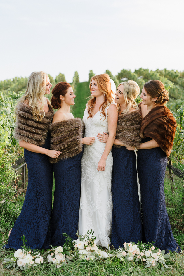 Bridesmaids are the bride's best friends!