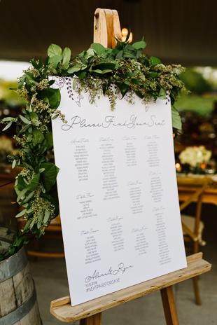 Lush greenery at the Ravine Winery wedding