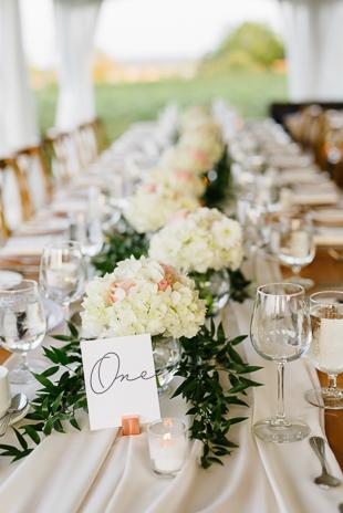 Organic wedding decor at the Ravine Winery wedding