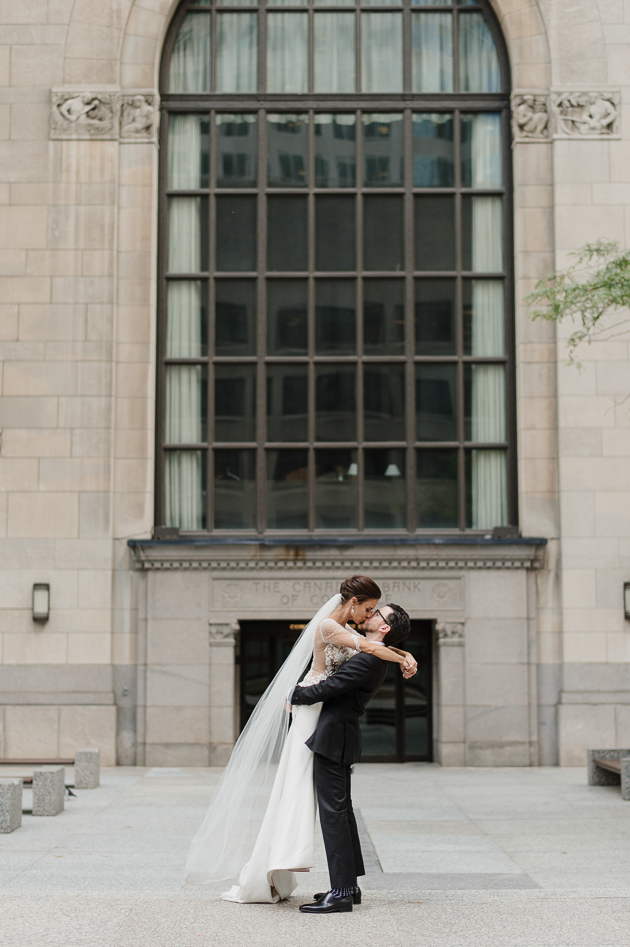 Financial District wedding photography in Toronto