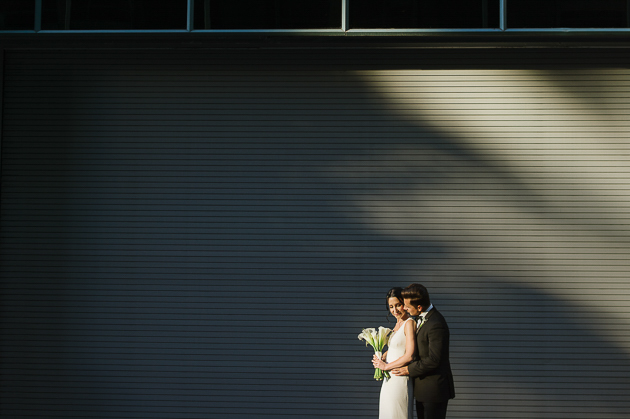 modern Rosewater Room wedding in Toronto
