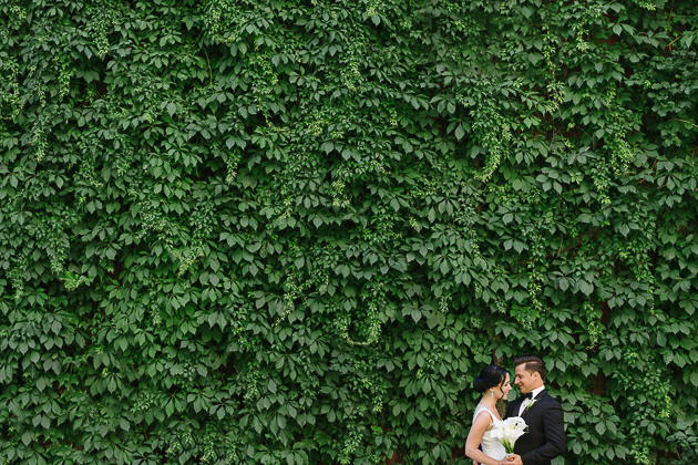 Downtown wedding in Toronto