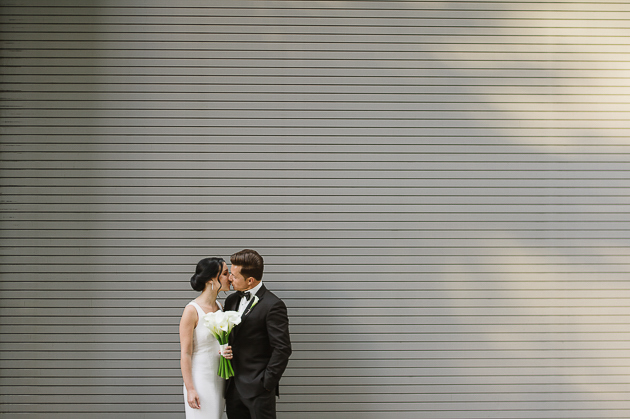 Modern and chic downtown wedding in Toronto