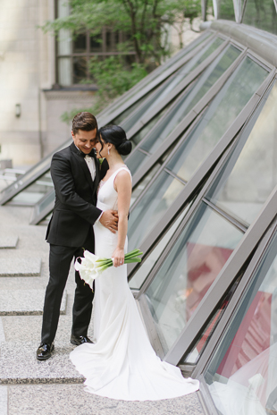 Financial District wedding photos in Toronto