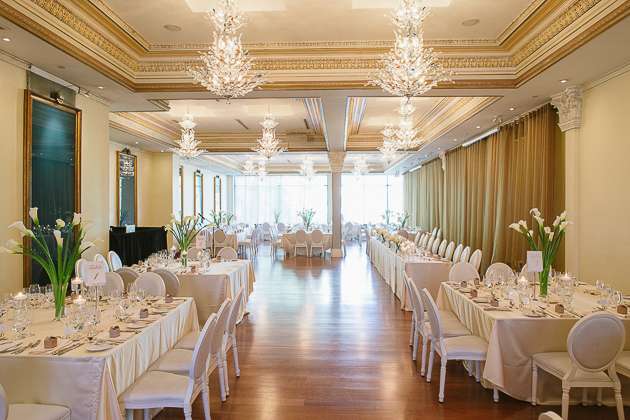 Rosewater Room wedding reception in Toronto