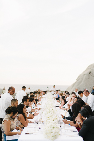 Romantic Mexico destination wedding