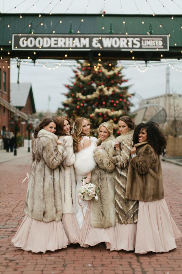 Romantic fermenting Cellar wedding during Christmas
