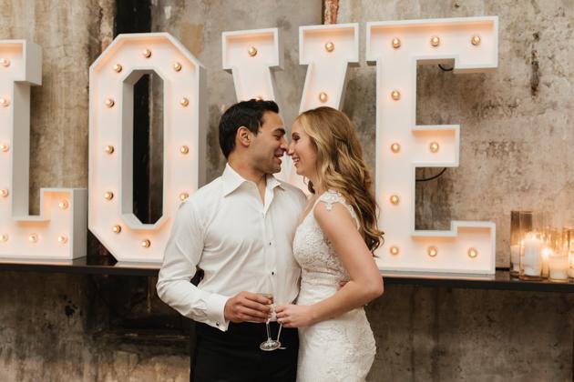 New Year's Eve Fermenting Cellar Wedding in Toronto