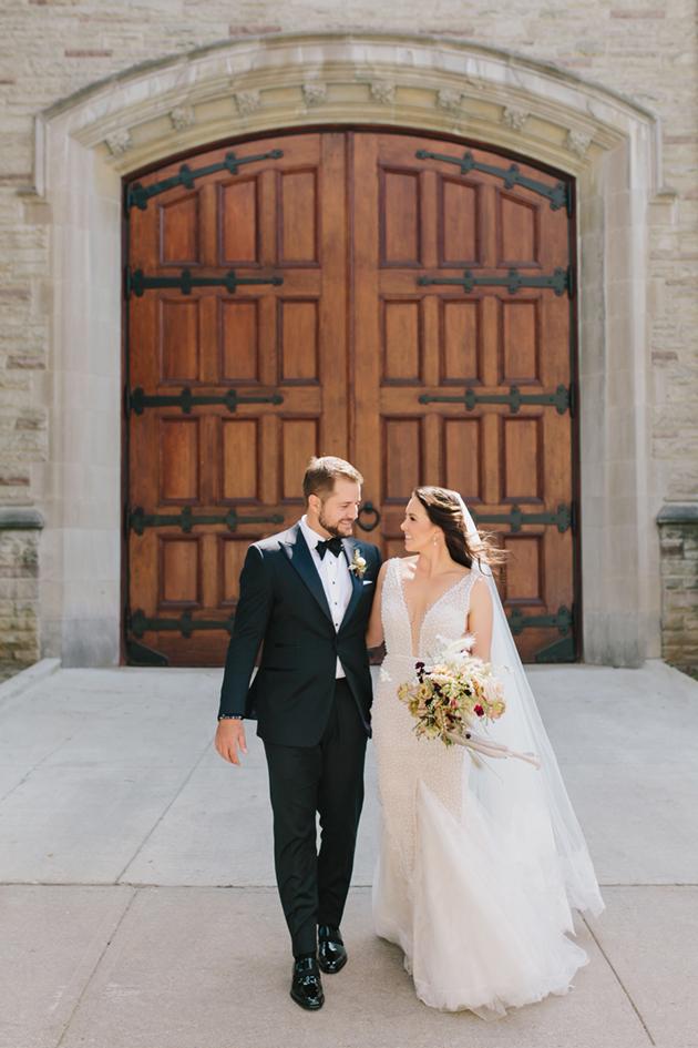 Airy University of Toronto wedding photos