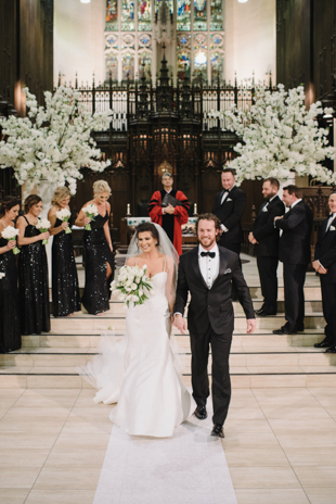 One King West winter wedding in Toronto
