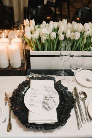 Elegant winter wedding at One King West