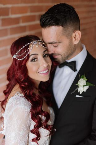 Modern and hip wedding photos in Toronto