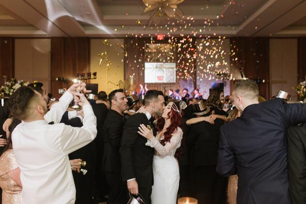 Fabulous New Years Eve wedding at the Ritz Carlton Hotel Toronto