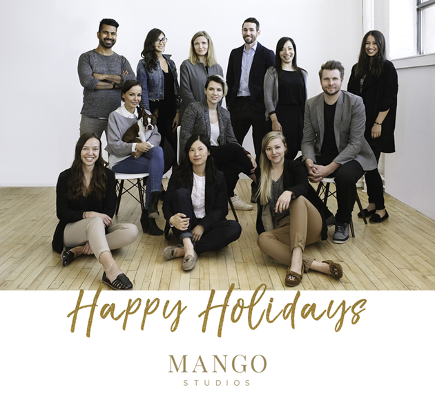 Seasons greetings from Mango Studios