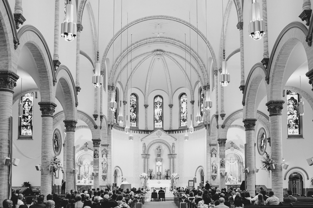 St Patrick Church wedding ceremony photos