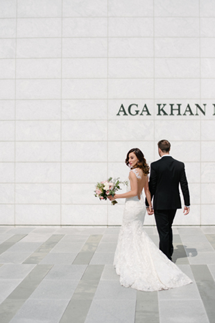 Aga Khan Museum wedding photography