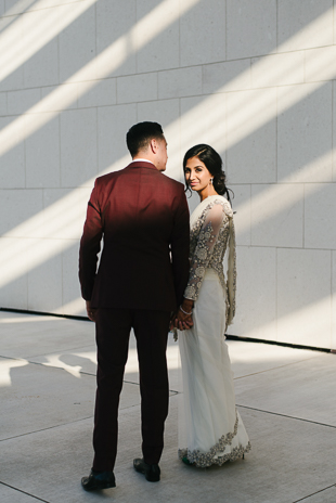Wedding photography at Aga Khan Museum