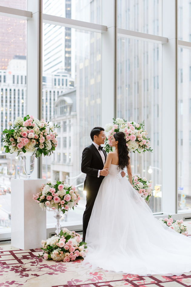 Shangri-la Toronto is one of the top wedding venues in Toronto