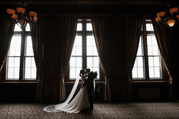 Romantic One King West Hotel wedding in Toronto