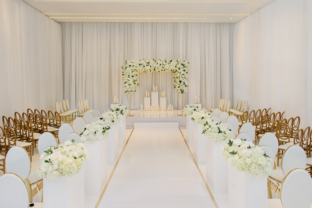 Gorgeous Four Seasons Hotel Toronto Wedding