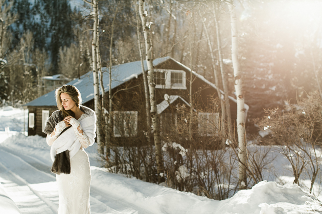 Winter Aspen wedding inspiration