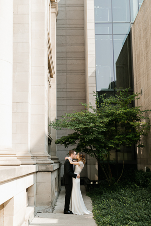 Inside the modern and elegant The Gardiner Museum Wedding