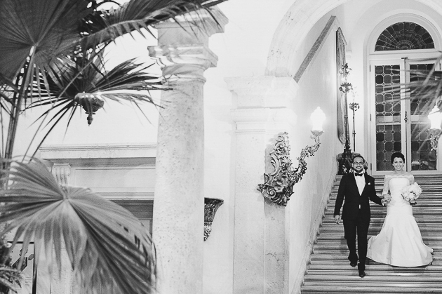 Miami wedding photography at Vizcaya Museum and Gardens