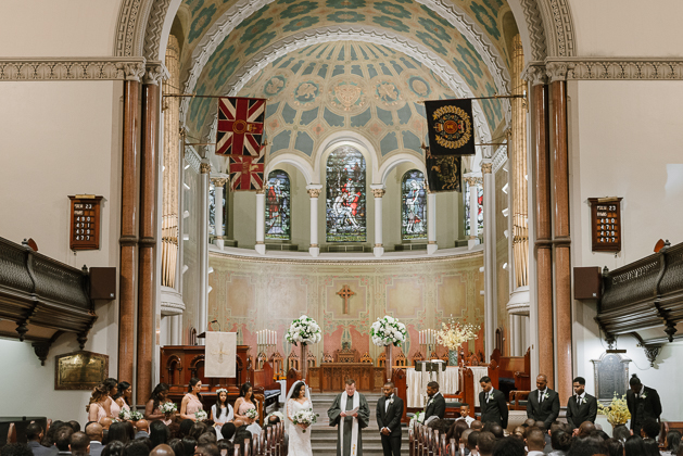 St. Andrew's Church wedding ceremony in Toronto