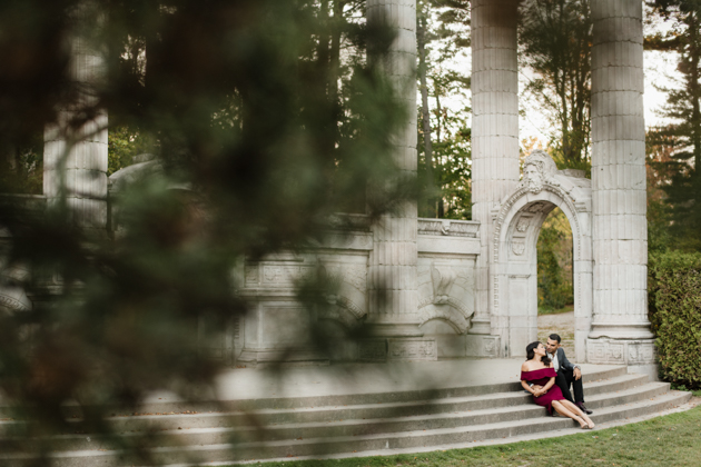 Guild Park is one of the best Toronto photography locations for engagement photos