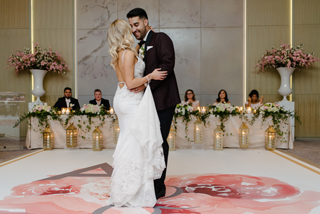 Inside the romantic Four Seasons Hotel Toronto wedding