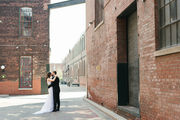 Liberty Village wedding photos in Toronto