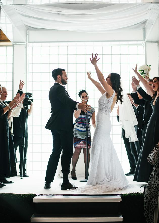 Just married! Inside the modern 99 Sudbury wedding