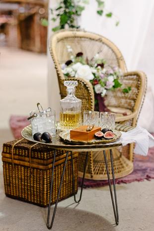 Romantic boho-inspired Evergreen Brickworks wedding inspiration