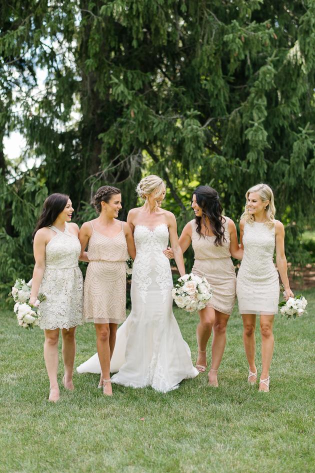 Bridesmaids photo at Langdon Hall wedding