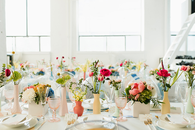 Summer party decor by Mango Studios - Toronto wedding photographer