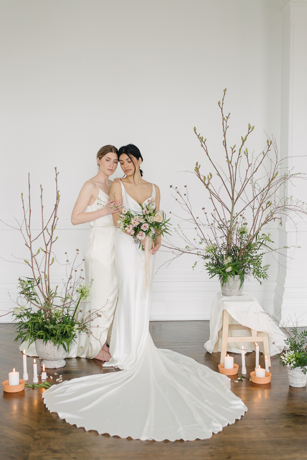 Modern and intimate The Great Hall wedding inspiration in Toronto
