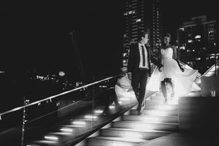 Fun and romantic Malaparte wedding