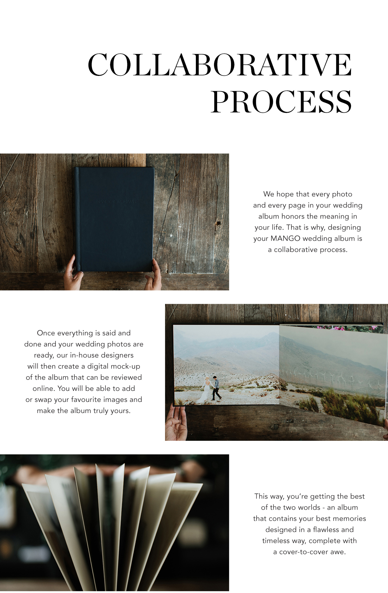 Why you should invest in Mango Studios wedding photo album